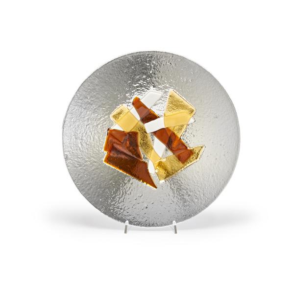 piatto vetro di murano